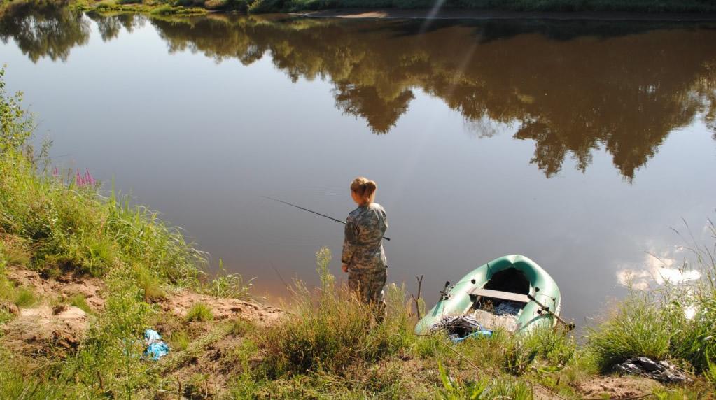 Отчеты о рыбалке с жиздры